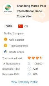 Bedrijfsinformatie Alibaba - Chinese Webshop Tips