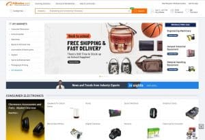 Alibaba Homepage - Chinese Webshops - Chinese Webshop Tips