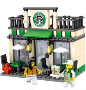 Lego Starbucks -Lego Shops