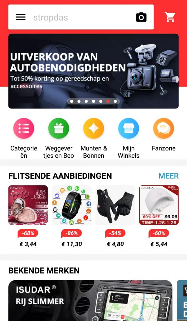 AliExpress Gratis Producten