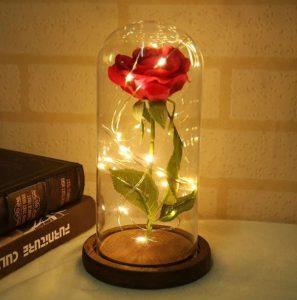Valentijn roos met lampjes van AliExpress