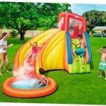 Opblaasbaar Zwembad met Glijbaan