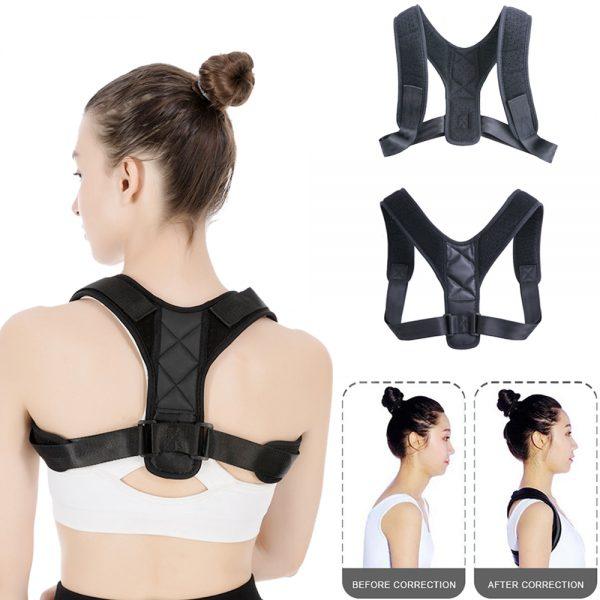 Houding corrector   Houdingcorrector   Rugbrace   Schouderbrace   Verstelbare Rug Brace   Posture Corrector