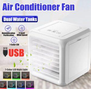 Mini Airco Kopen | Mini Mobiele Airco | Mini Airconditioner | Portable Airco met LED verlichting
