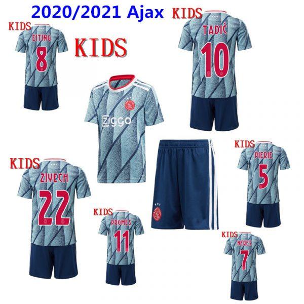 Ajax Replica Uit Tenue Voetbalshirt Jersey Shirt 2020/2021