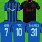 Replica Ajax Uitshirt 2021/2022 van AliExpress