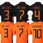 Replica Nederlands Elftal Shirt van AliExpress