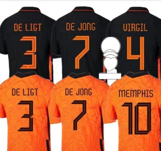Replica Nederlands Elftal Voetbalshirt van AliExpress