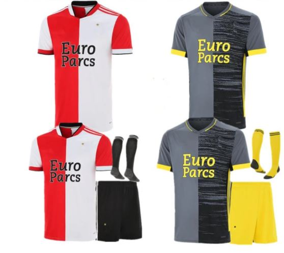 Goedkoop Replica Feyenoord Voetbalshirt Tenue 2021-2022 van AliExpress